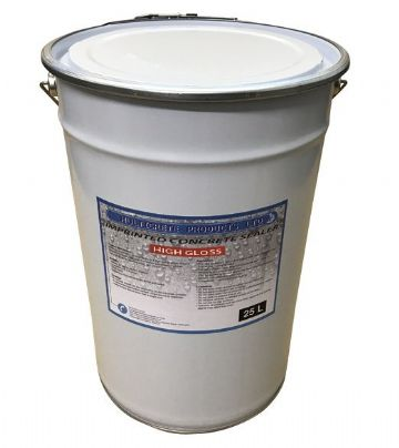 Pattern Imprinted Concrete Sealer - High Gloss (25Ltr)
